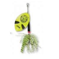 Spinner DAM Madcat Big Blade 55 g Fluo Yellow