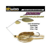 Spinnerbait Biwaa Dogon 21g Gold Ayu-Gold Blades