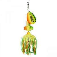 Spinnerbait Madcat A-Static Screaming Spinner 65gr Firetiger UV
