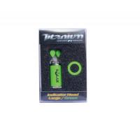 Cap Swinger Solar Titanium Indicator Head Large Green