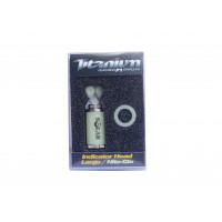 Cap Swinger Solar Titanium Indicator Head Large Nite-Glo