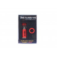 Cap Swinger Solar Titanium Indicator Head Large Red