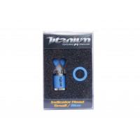 Cap Swinger Solar Titanium Indicator Head Small Blue