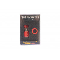 Cap Swinger Solar Titanium Indicator Head Small Red