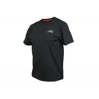 Tricou Fox Rage Black Marl T Shirt XXL
