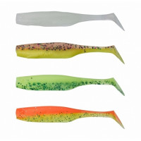 SOFT BAIT SENSAS GUNKI PEPS DARK WATER KIT II 9CM 4BUC/PLIC
