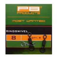 Ring PB Products Swivel Nr.8 10buc/plic