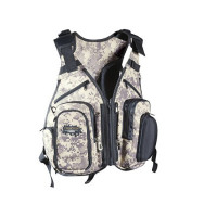 Vesta Dragon Street Fishing Vest Tech With Replacement Bags 1