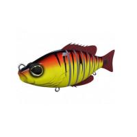 SWIMBAIT BIWAA SEVEN SECTION 13cm 34gr CULOARE RED TIGER