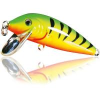 Vobler Lineaeffe Nomura Shoutdown Minn Culoare Green Yellow Red 3cm 2.2g