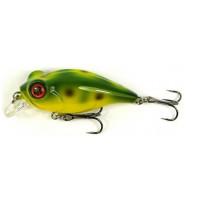 Vobler Owner Bug Eye Bait 50mm 6.5gr 53 Galben spate verde