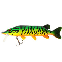 Vobler Westin Mike the Pike 17 CM & 42 GR Slow Sinking Firetiger