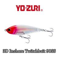 Vobler Yo-Zuri 3D Inshore Twitchbait SS 9cm 17g culoare C5