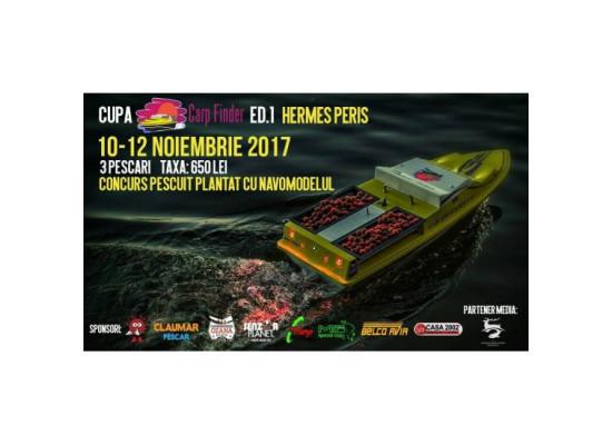 Cupa Carp Finder Ed.1 Hermes Peris 10-12 Noiembrie2017