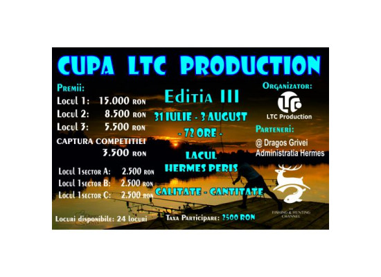 Cupa Ltc Production 31 Iulie - 3 August