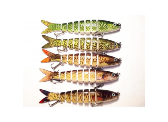 Set 5 Voblere Swimbait