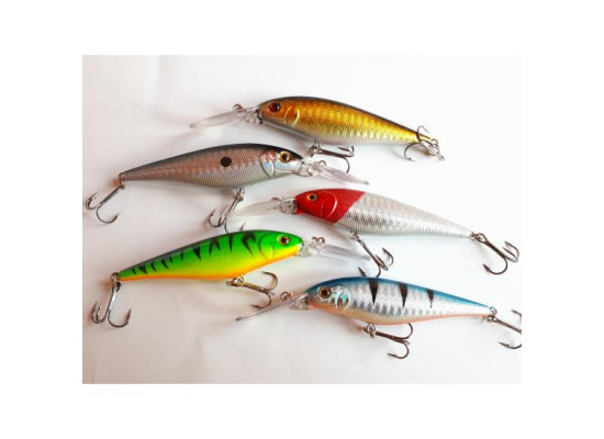 Set 5 Voblere Minnow