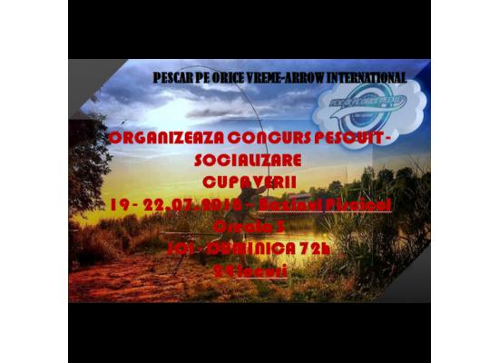 """Concurs Pescuit - Socializare  """"cupa Verii - 2018 """""""