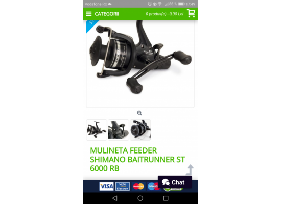 Mulineta Shimano St 6000 Br