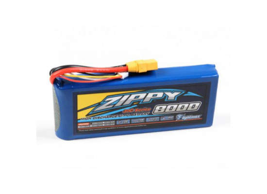 Zippy Lipo 3s 8000mah (8a), Nou! Acumulator,baterie Navomodel Plantat