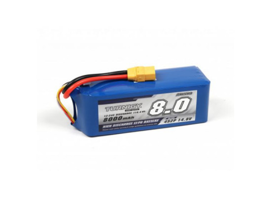 Turnigy Lipo 4s 8000mah(8a) Nou! Acumulator Baterie Navomodel Plantat