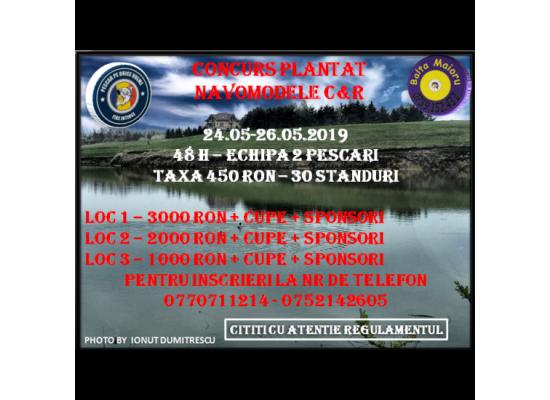 Concurs Pescuit Plantat Navomodele C&r Cupa Balta Maioru Ed.1