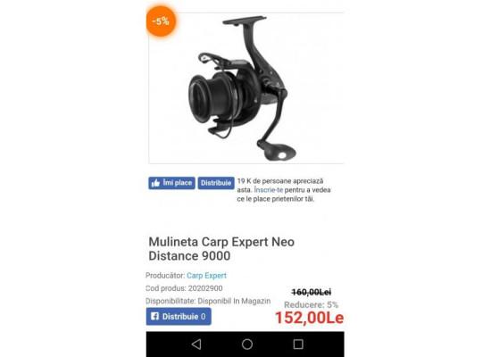 De Vânzare 2 Lansete + 2 Mulinete Carp Expert