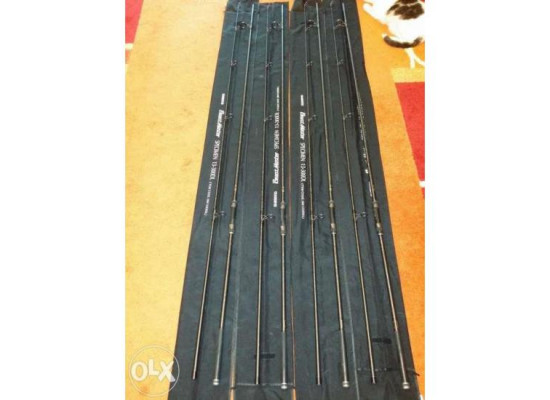 Cumpăr Urgent 3 Lansete Shimano Beastmasters 3,90m 3 Lbs Model Vechi